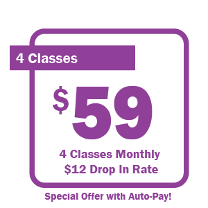 4 Class Yoga Pass Special Offer with Auto Pay